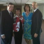 Dr. and Mrs. Ed Hindson with Pastor Tom and Cindy Downs