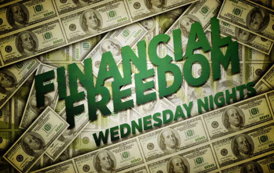 "Wed 7/13/16 – ""God's Blessing"" – Financial Freedom"
