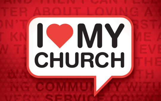 "Sun 2/19/17 – ""Love By Serving"" – I Love My Church"