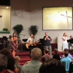 Jack Smith and our Worship Team