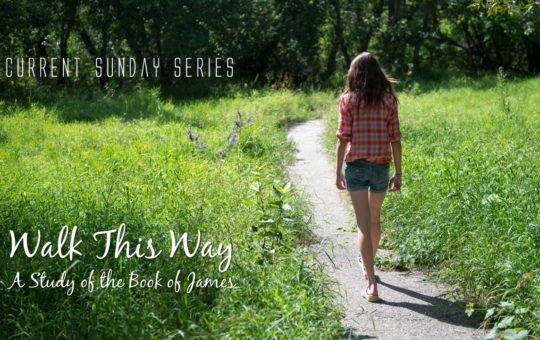 "Sun 5/21/17 – ""Hear My Actions"" – Walk This Way"